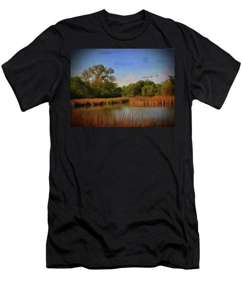 Twilight Flight Men's T-Shirt (Athletic Fit)