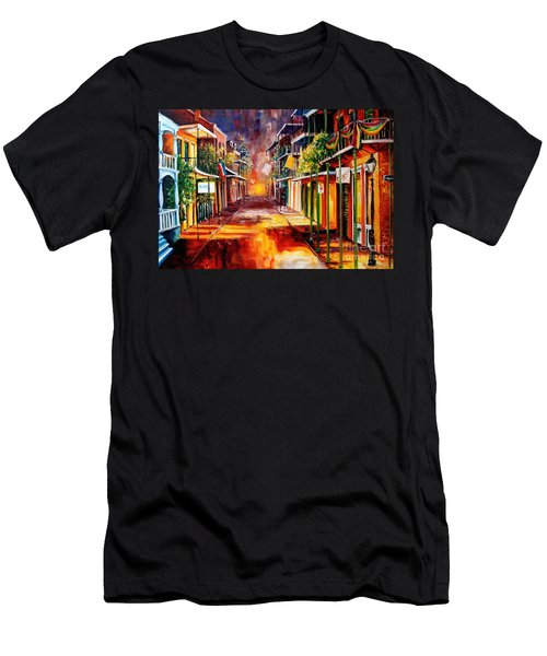 Twilight In New Orleans Men's T-Shirt (Athletic Fit)