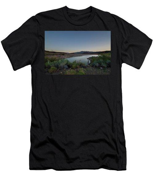 Twilight In The Desert Men's T-Shirt (Athletic Fit)