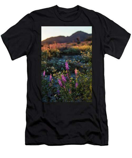 Twilight Lupine Men's T-Shirt (Athletic Fit)