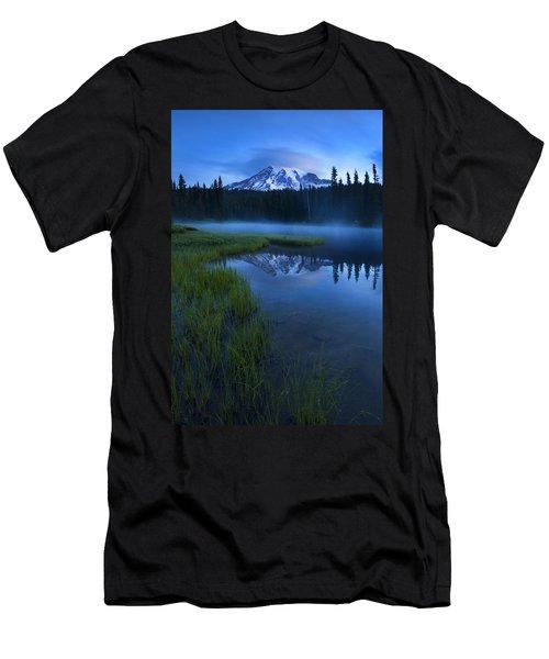 Twilight Mist Rising Men's T-Shirt (Athletic Fit)