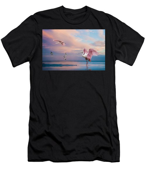 Twilight On The Gulf Men's T-Shirt (Athletic Fit)