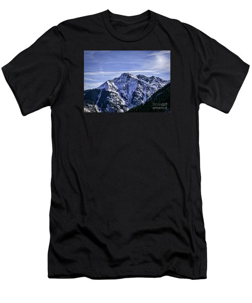 Twilight Peak Colorado Men's T-Shirt (Athletic Fit)