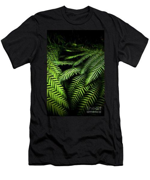 Twilight Rainforest Fern  Men's T-Shirt (Athletic Fit)