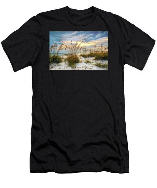 Twilight Sea Oats Men's T-Shirt (Athletic Fit)