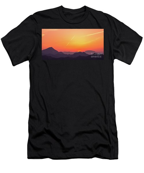 Men's T-Shirt (Athletic Fit) featuring the photograph Twilight by Tatsuya Atarashi