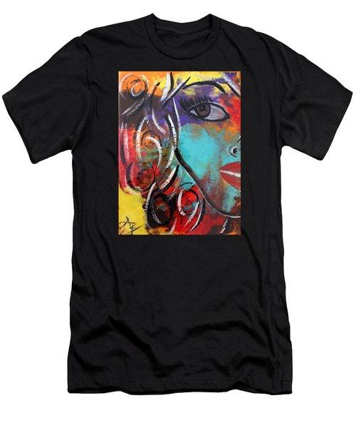 Twin 1 Men's T-Shirt (Athletic Fit)