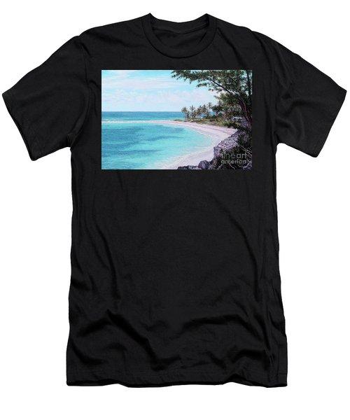 Twin Cove Paradise Men's T-Shirt (Athletic Fit)