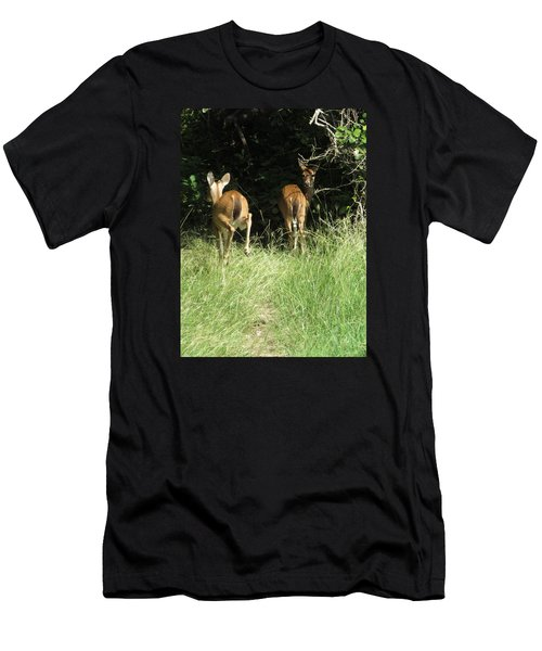 Twin Fawns Men's T-Shirt (Slim Fit) by Phyllis Beiser