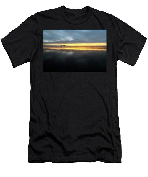 Twin Rocks Sunset Sliver Men's T-Shirt (Athletic Fit)