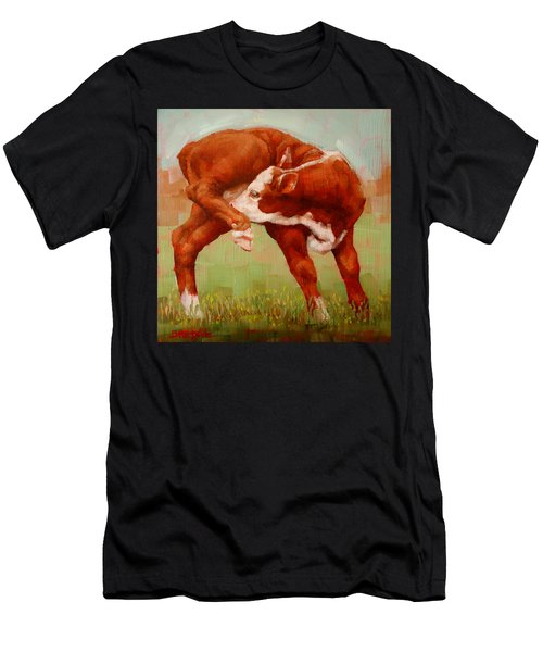 Twisted Calf Men's T-Shirt (Athletic Fit)