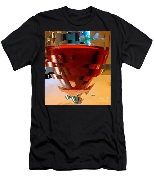 Twisted Wine Glass Men's T-Shirt (Athletic Fit)