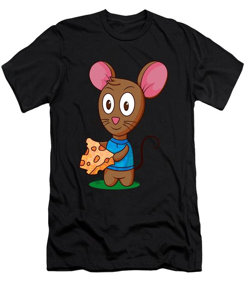 Twitch The Mouse Men's T-Shirt (Athletic Fit)