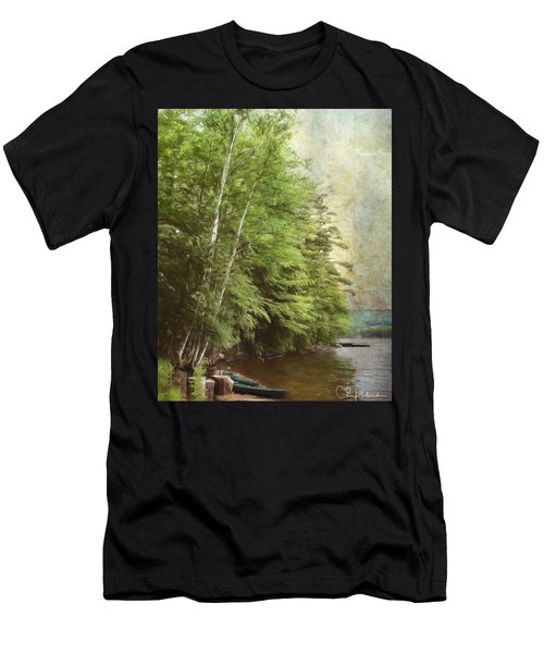 Two Birches Men's T-Shirt (Athletic Fit)