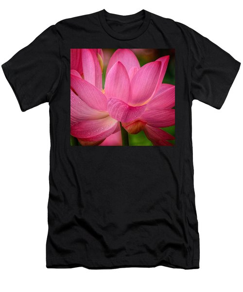 Two Blooms Men's T-Shirt (Athletic Fit)