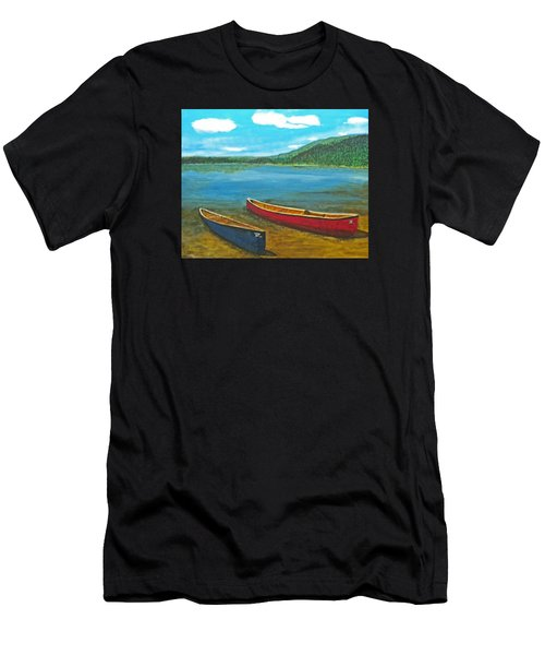 Two Canoes Men's T-Shirt (Athletic Fit)