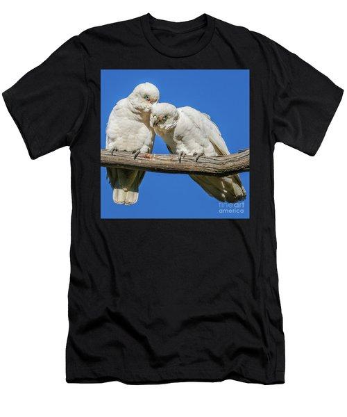Two Corellas Men's T-Shirt (Athletic Fit)