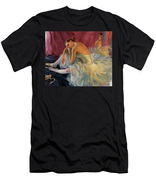 Two Dancers Men's T-Shirt (Athletic Fit)
