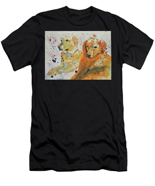 Two Dogs Men's T-Shirt (Athletic Fit)