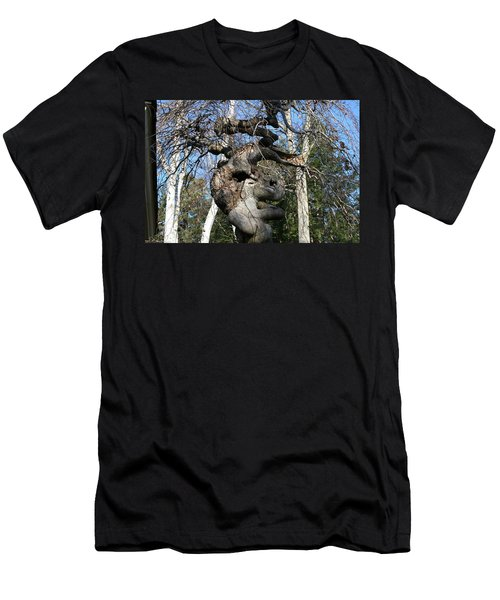 Two Elephants In A Tree Men's T-Shirt (Athletic Fit)