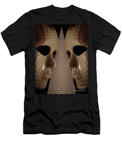 Two Faced Men's T-Shirt (Slim Fit)