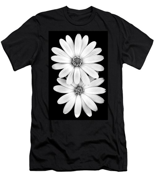 Men's T-Shirt (Athletic Fit) featuring the photograph Two Flowers by Az Jackson