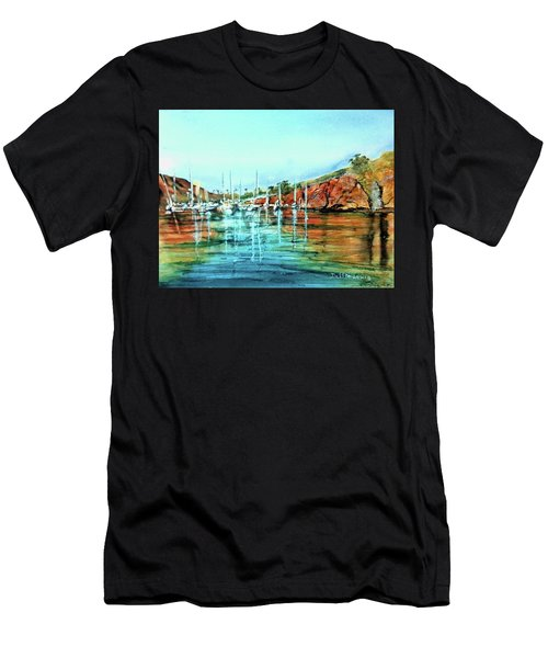 Two Harbors Catalina Morning Impressions Men's T-Shirt (Athletic Fit)