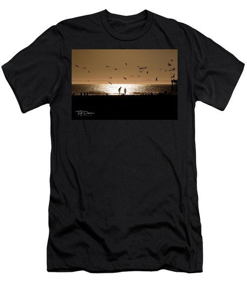 Two In Sun Men's T-Shirt (Athletic Fit)