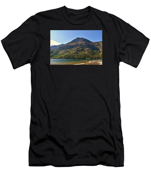 Two Medicine Lake Men's T-Shirt (Athletic Fit)