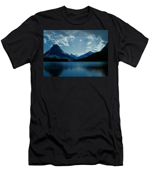 Two Medicine Lake Men's T-Shirt (Slim Fit)