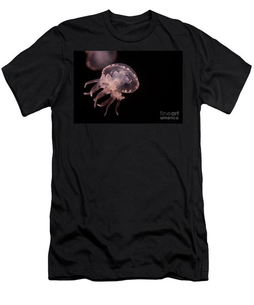 Two Moon Jellies Men's T-Shirt (Athletic Fit)