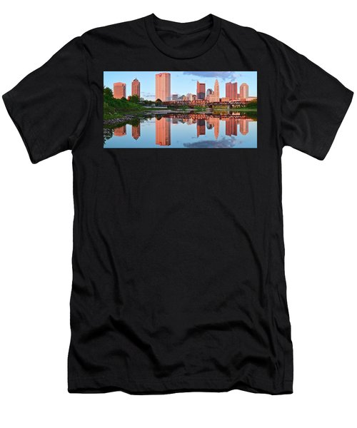 Men's T-Shirt (Slim Fit) featuring the photograph Two Of Everything by Frozen in Time Fine Art Photography