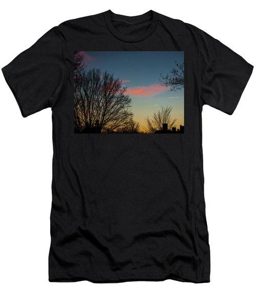 Two Planes Men's T-Shirt (Athletic Fit)