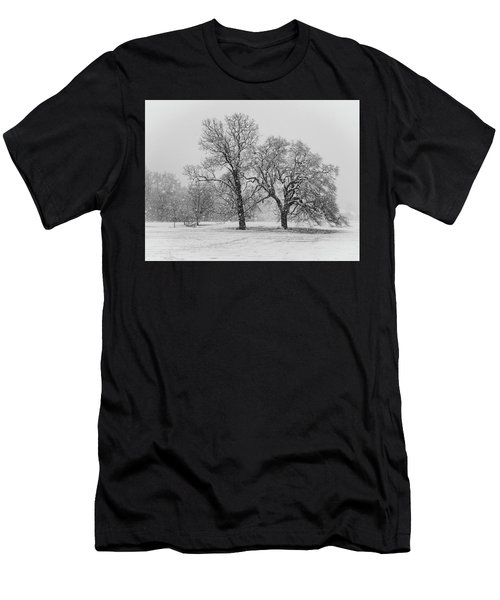 Two Sister Trees Men's T-Shirt (Athletic Fit)