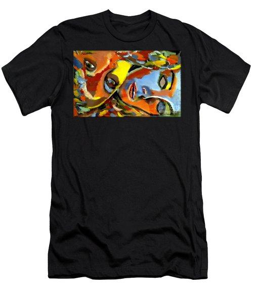 Two Souls Men's T-Shirt (Athletic Fit)