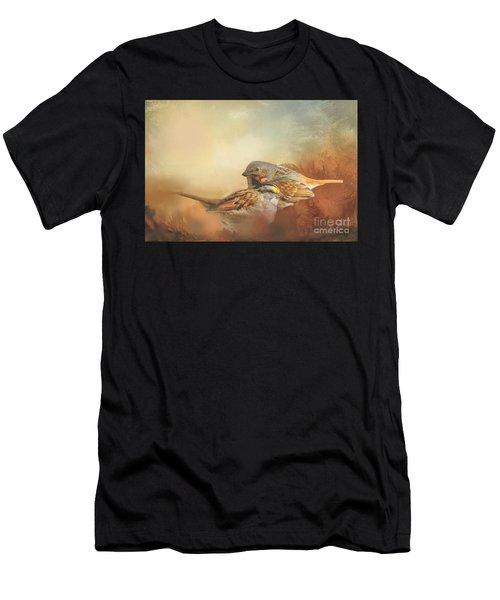 Sparrows In The Marsh 2 Men's T-Shirt (Athletic Fit)