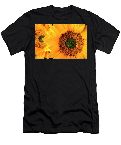 Two Stunning Sunflowers Men's T-Shirt (Athletic Fit)