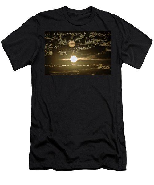 Two Suns Men's T-Shirt (Athletic Fit)