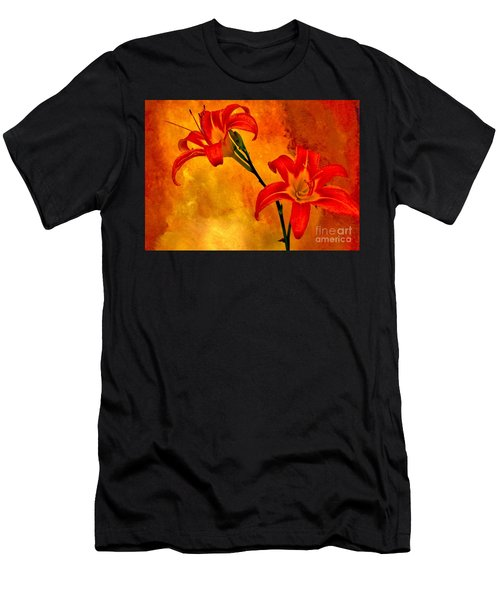 Two Tigerlilies Men's T-Shirt (Athletic Fit)