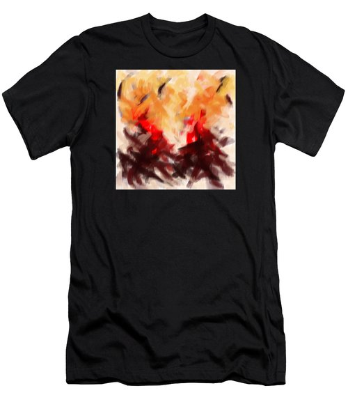 Two To Tango Abstract Men's T-Shirt (Athletic Fit)
