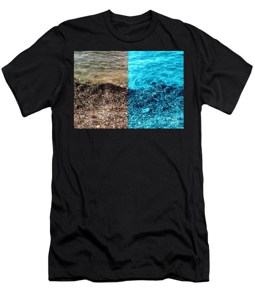 Two Tone Marine Men's T-Shirt (Athletic Fit)