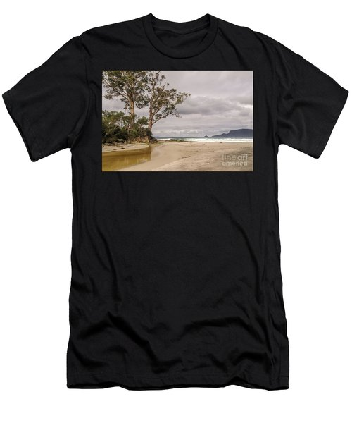 Two Tree Point Men's T-Shirt (Athletic Fit)