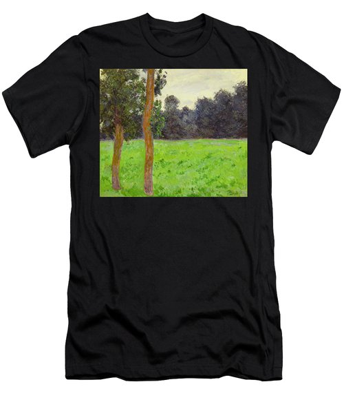 Two Trees In A Field Men's T-Shirt (Athletic Fit)