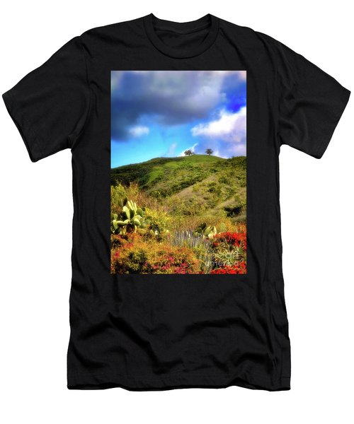 Two Trees In Spring Men's T-Shirt (Athletic Fit)