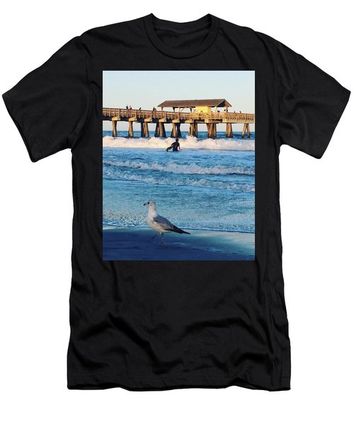 Tybee Island Men's T-Shirt (Athletic Fit)