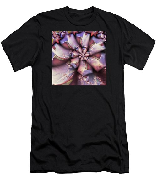 Men's T-Shirt (Slim Fit) featuring the digital art Tye Dyed To Infinity by Michelle H