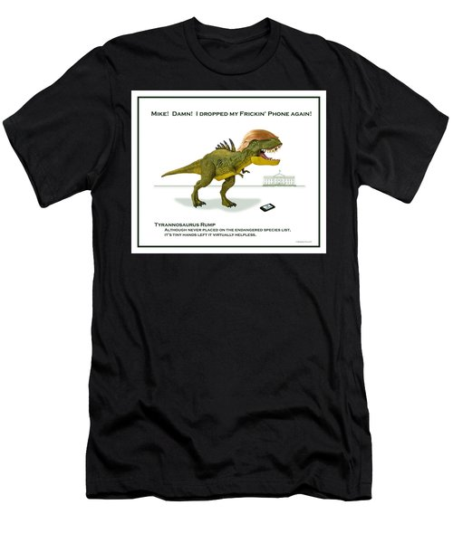 Tyrannosaurus Rump Men's T-Shirt (Athletic Fit)