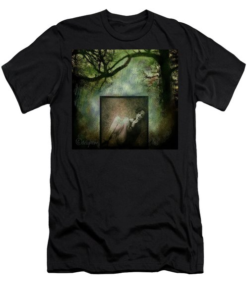 Men's T-Shirt (Athletic Fit) featuring the digital art Tyranny Of Pretty by Delight Worthyn