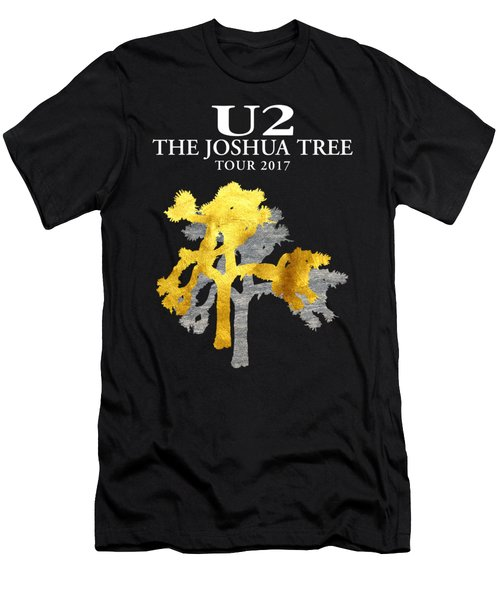 U2 Joshua Tree Men's T-Shirt (Slim Fit) by Raisya Irawan
