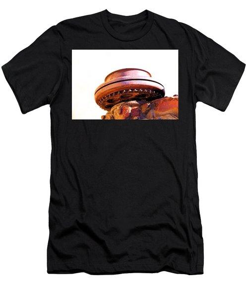 Men's T-Shirt (Slim Fit) featuring the photograph Ufo Landing At Joshua Trees by Viktor Savchenko